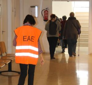 Evacuació de les instal·lacions del CFA Palau de Mar