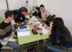 Estudiants del CFA Palau de Mar
