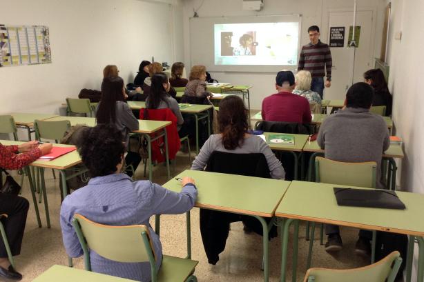 Sessió informativa del programa de Parelles lingüístiques