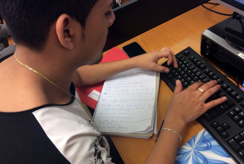 Estudiant del GES del CFA Palau de Mar