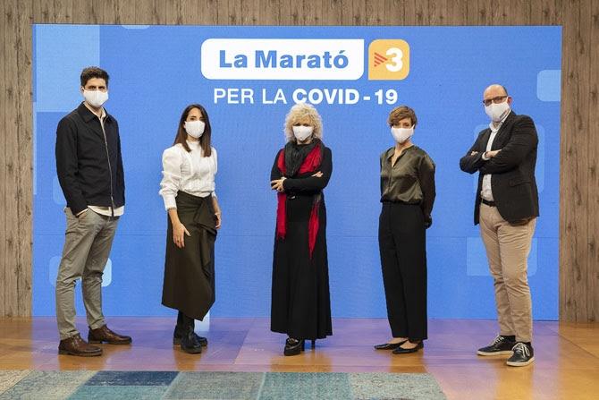 Imatge promocional de La Marató de TV-3 2020