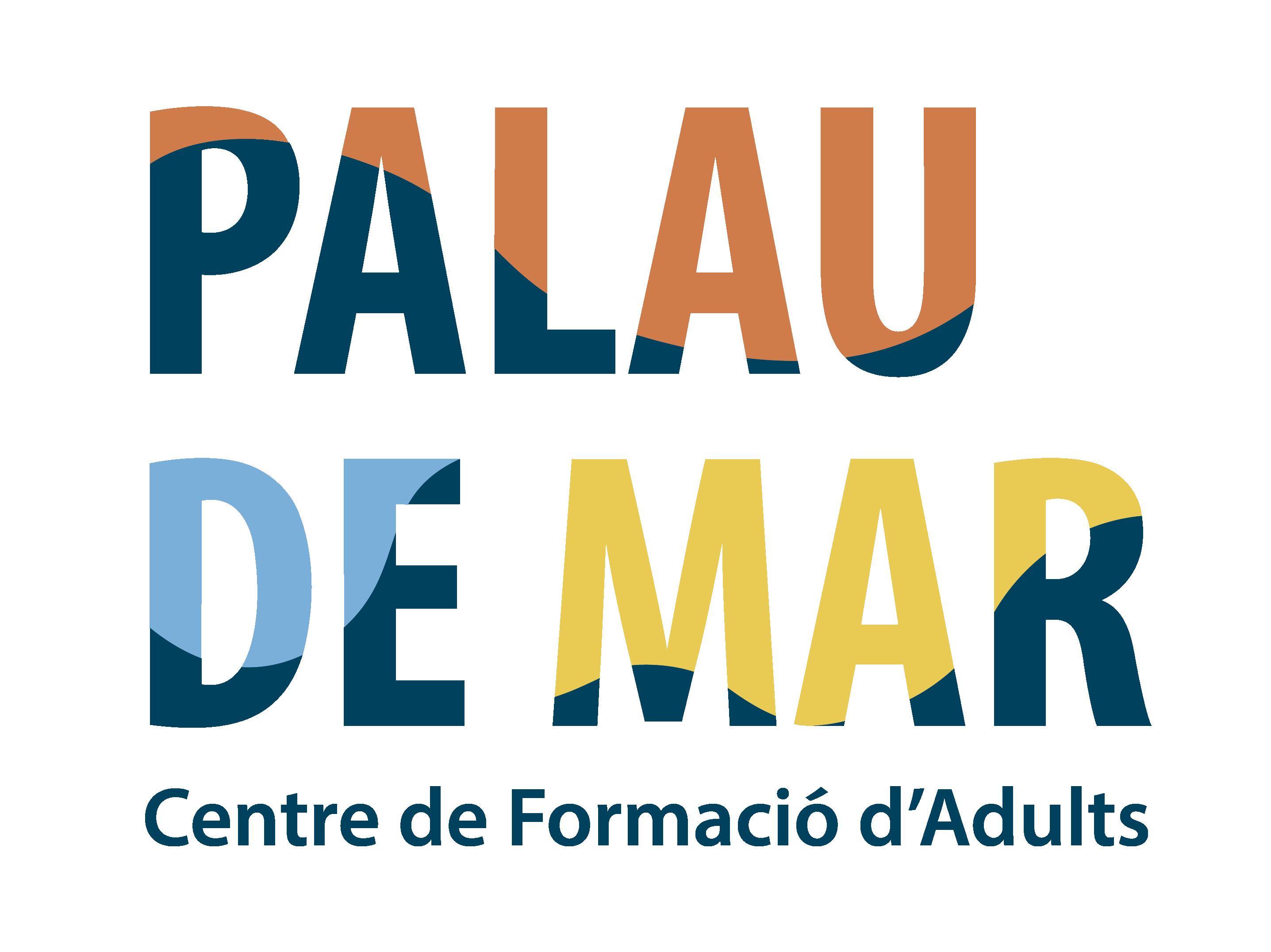 Logos CFA Palau de Mar_Vertical