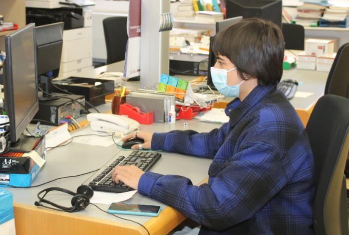 Imatge de l'estudiant en pràctiques
