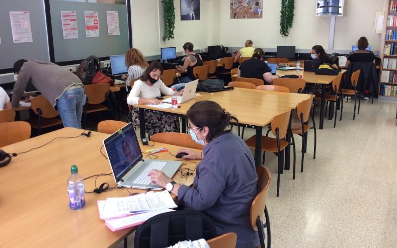 Estudiants de COMPETIC 3 del CFA Palau de mar