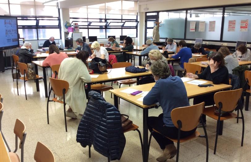 Estudiants de Llengua francesa del CFA Palau de Mar