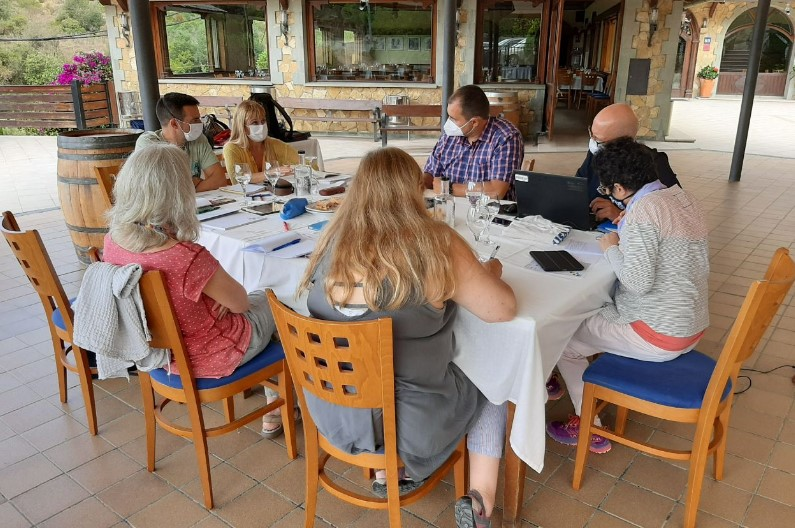 Imatge de la trobada del professorat del CFA Palau de Mar